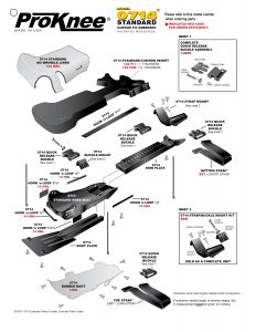ProKnee 0714 Exploded View