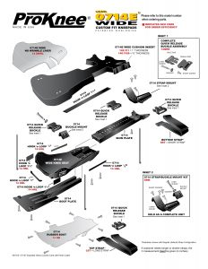 ProKnee 0714E Wide Exploded View