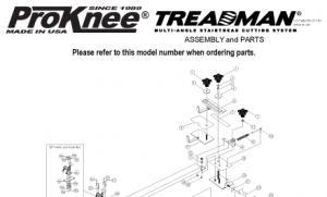 ProKnee Treadman Assembly and Parts