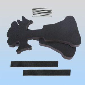 """ProKnee Model 0714E 1"""" Foam Inserts"""