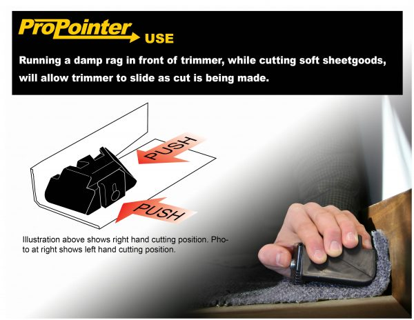 How to use the ProKnee GoofProof Wall Trimmer