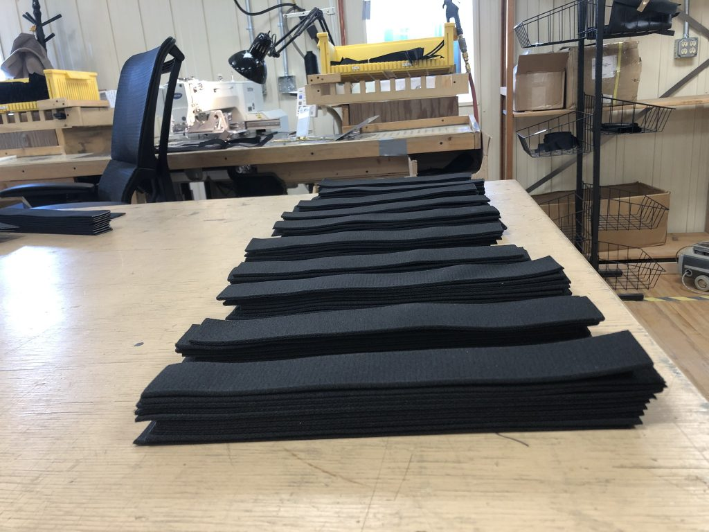ProKnee Polycarbonate Face Shield Manufacturing