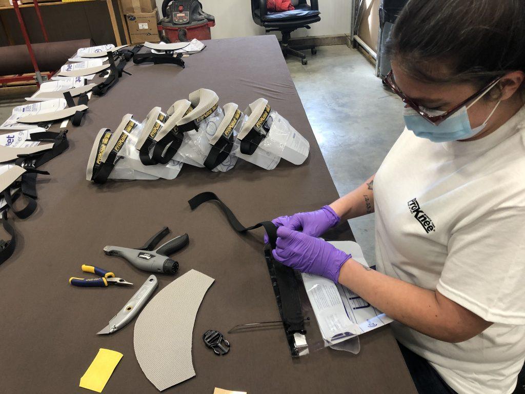 ProKnee Face Shield Assembly