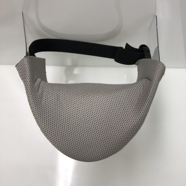 ProKnee Max Protection Face Sheild with Wick Guard Top View