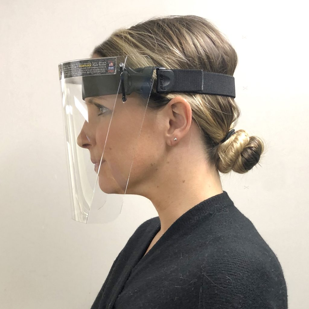 ProKnee Polycarbonate Face Shield Without Wick Guard