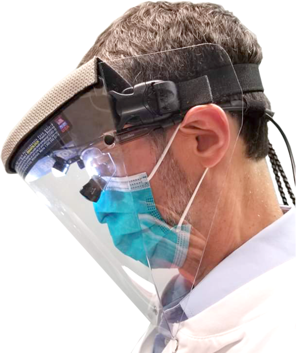 ProKnee Max Protection Face Shield Dentist