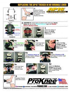 ProKnee AP16 Replacing Tucked in No Wrikle Liner